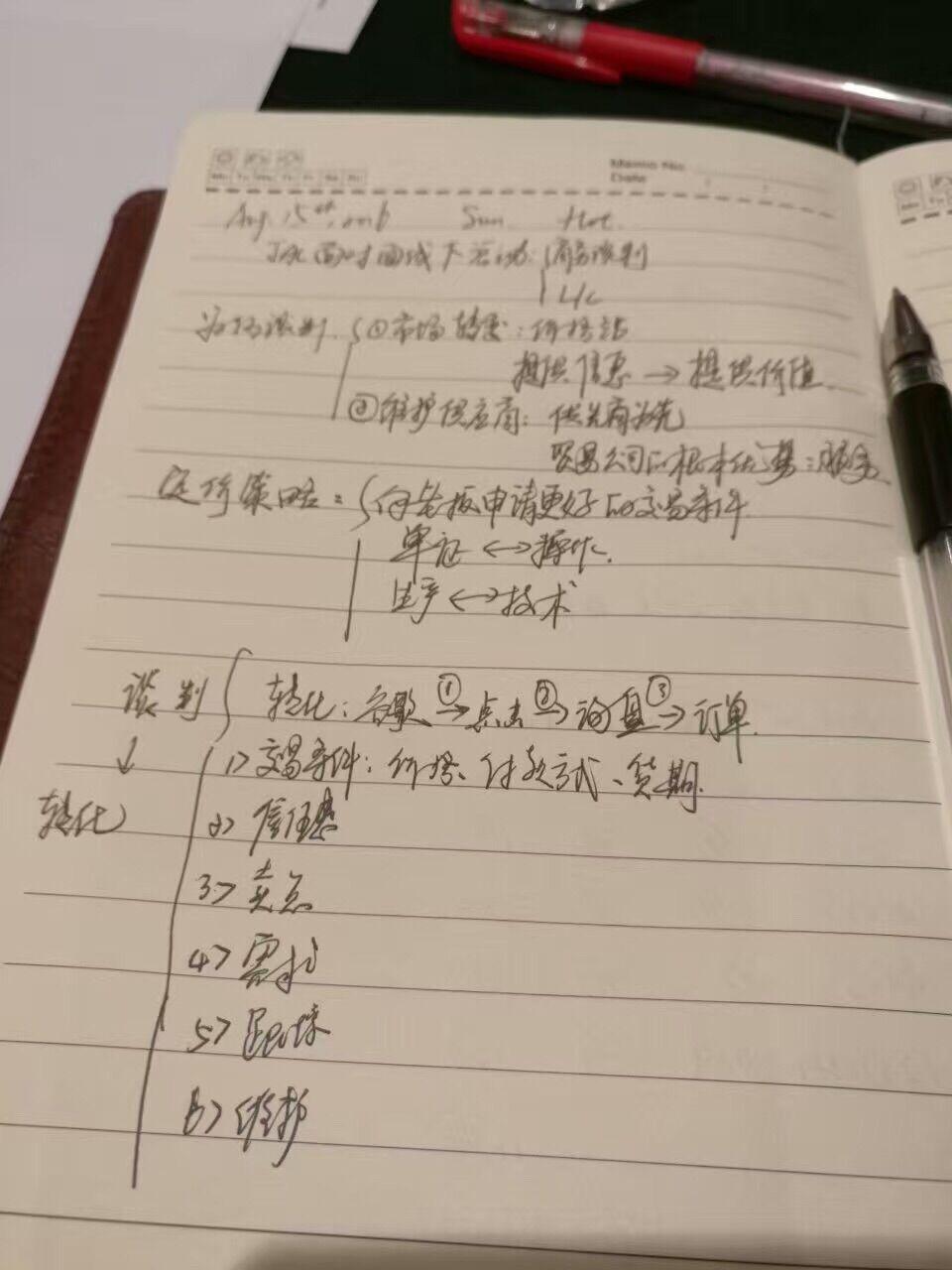 2016秋季JAC外贸分享会 — 杭州站,会议记录 – Marrry
